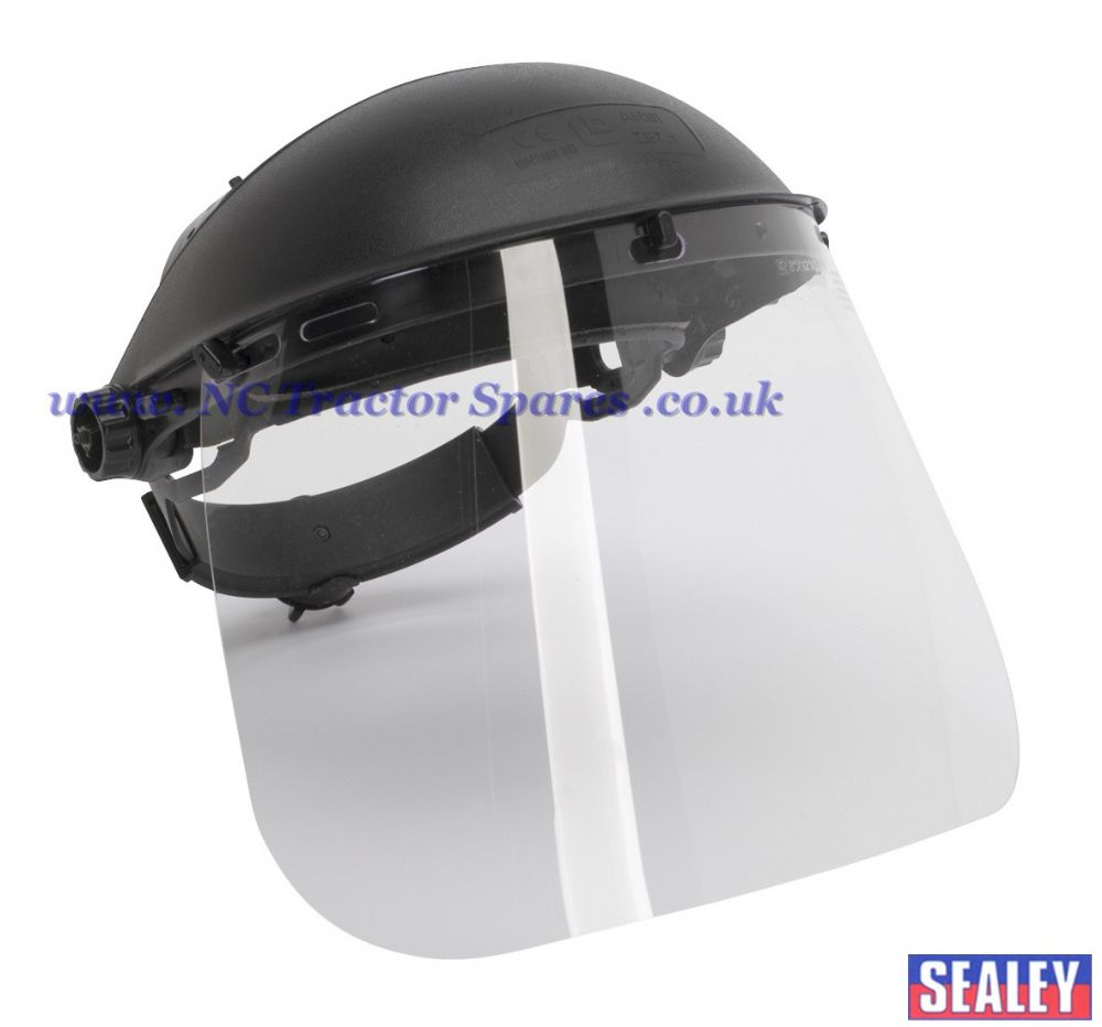 Brow Guard & Full Face Shield Deluxe BS EN 166/B39